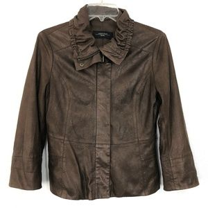 Max Mara Weekend Brown Coated Jacket